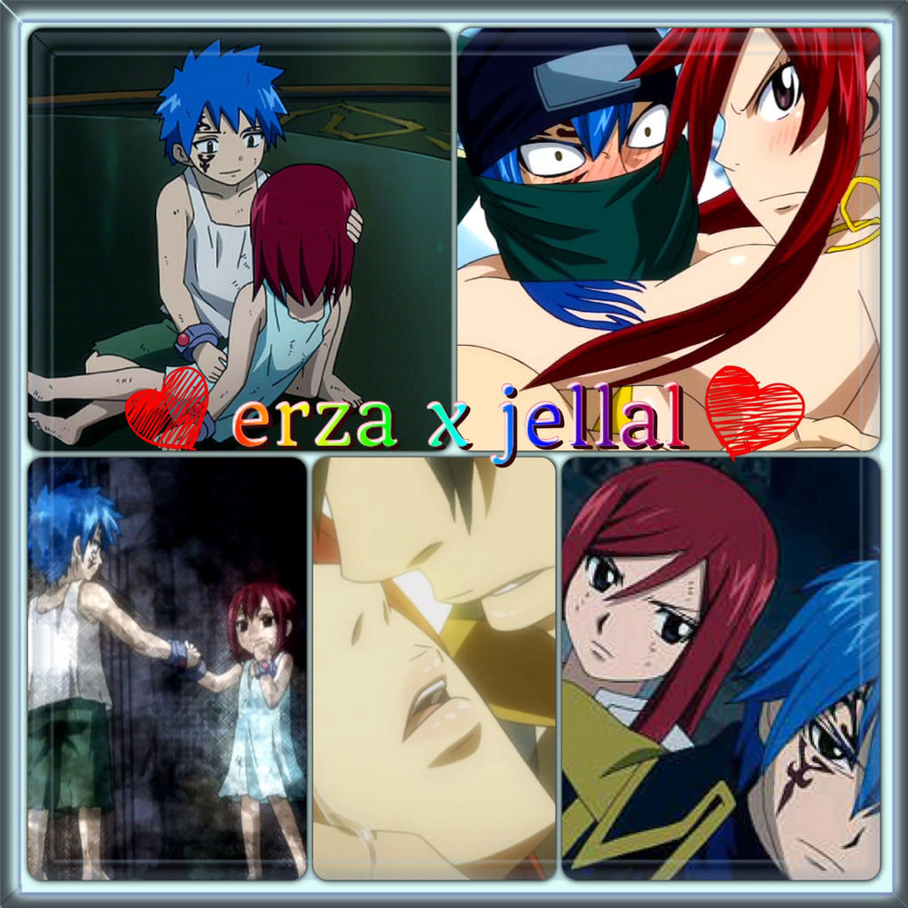 the gallery for gt erza x jellal love