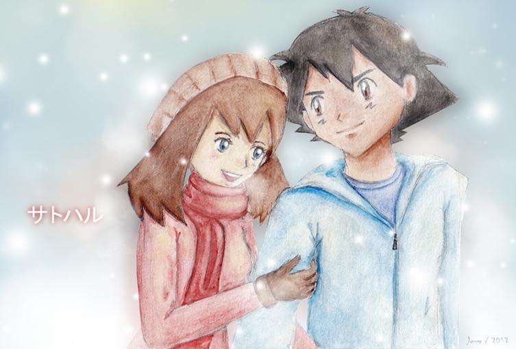 Snowfall by lunaetha