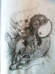 The Dragon Warrior by kyrisnowpaw