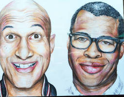 Key and Peele by kyrisnowpaw