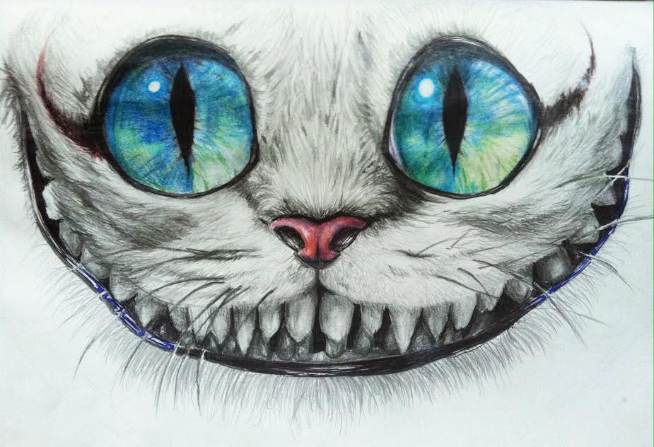 Cheshire Cat by kyrisnowpaw on DeviantArt