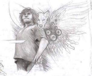Jack Wallpaper Sketch by kyrisnowpaw