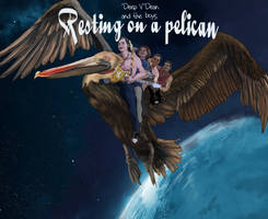 Resting on a Pelican cover