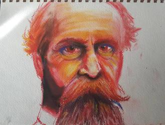William James by kyrisnowpaw