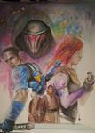 A Star Wars Nerd by kyrisnowpaw