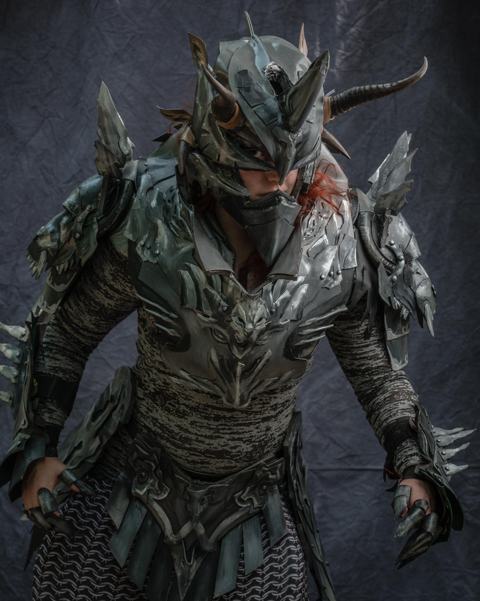 Charr Cultural Armor Tier 3 by kyrisnowpaw