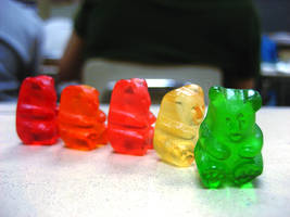 Gummy Bear Parade by thecompasspoint