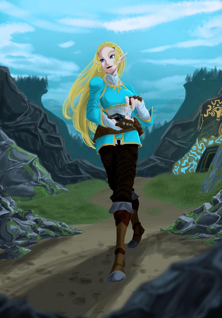 Zelda! by JessxJess