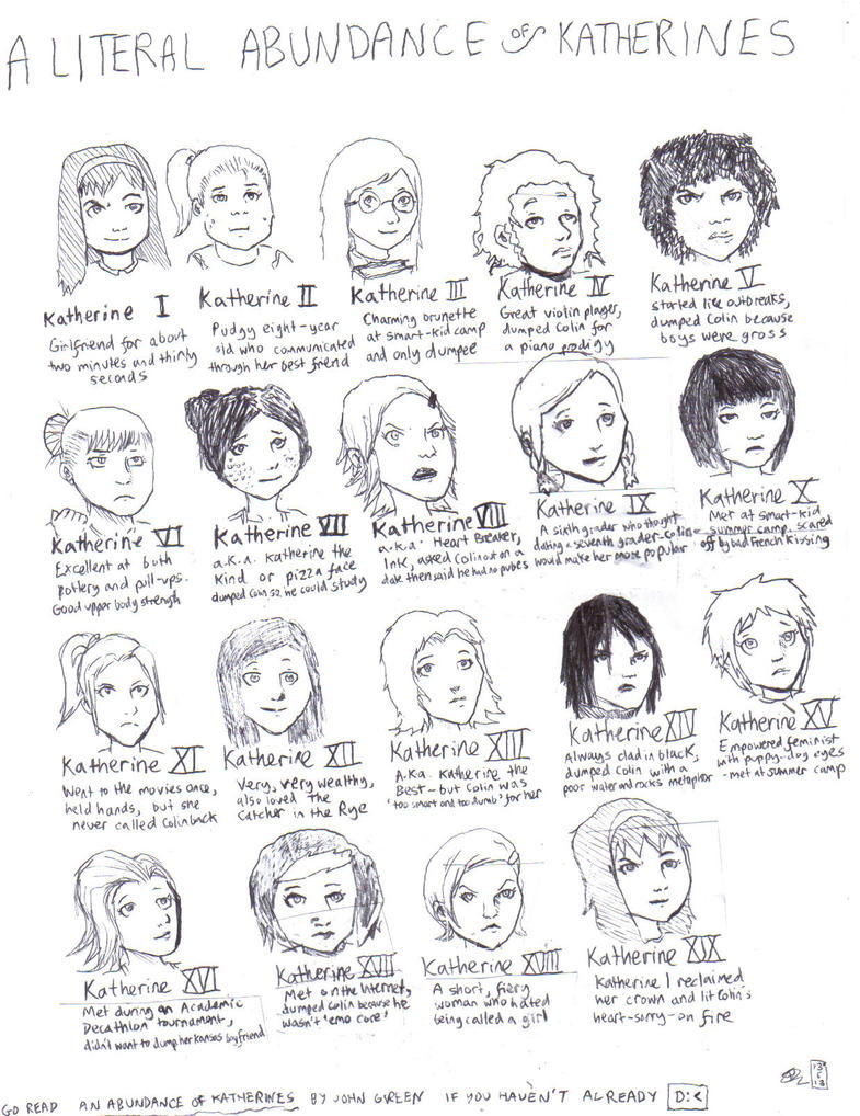 a literal abundance of katherines by anothercanofworms on