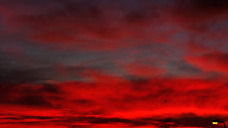 Blood Red Sunset. by xJobO-De-HobOx