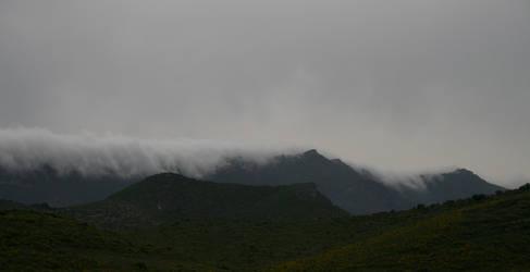 Rolling Mists - Saint Florent, Corsica.