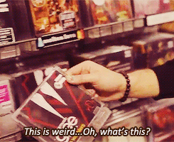 Darren buying his own CD (Warblers) by Sugerpie56