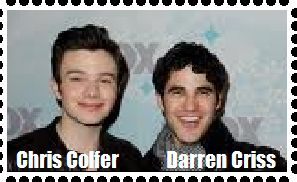 Chris and Darren stamp (attempted) by Sugerpie56