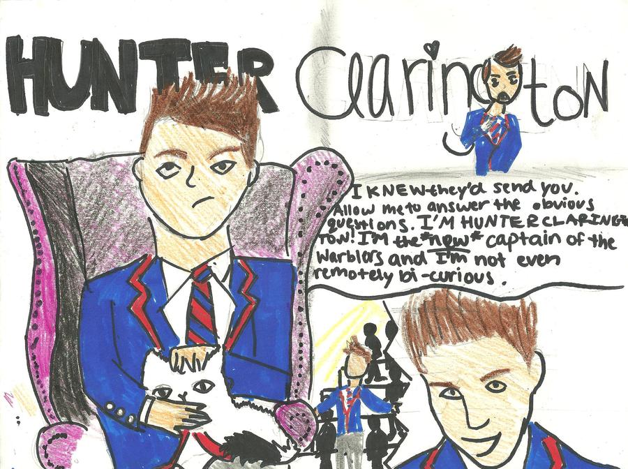 I'm Hunter Clarington. by Sugerpie56