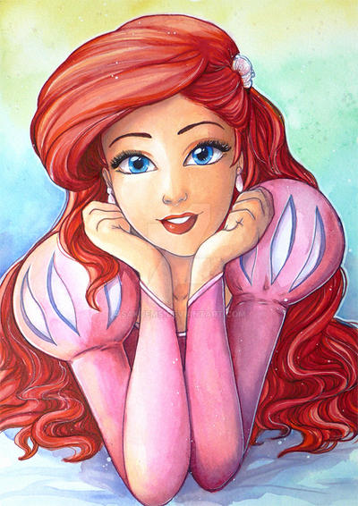 Ariel Princess By Sakuems On Deviantart