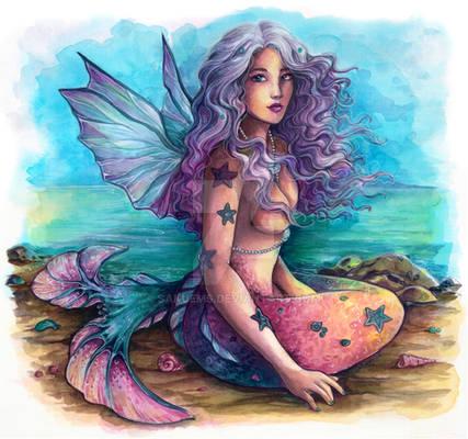 Leucosia Angel Mermaid