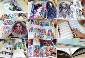 Fantasy artbook modern romantic art and tutorials