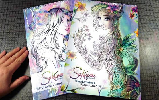 Coloring books ^^
