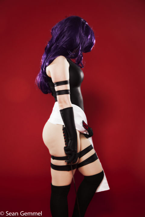 Psylocke by ShatteredStitch