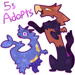 5 Dollar Beast Adopts (CLOSED)