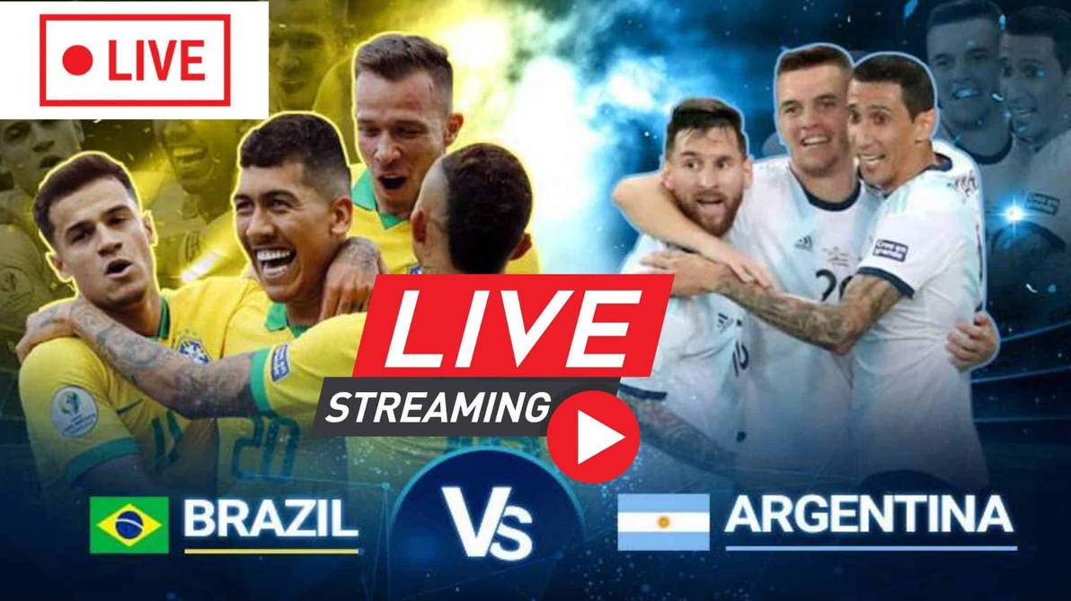 Brazil vs Argentina Live