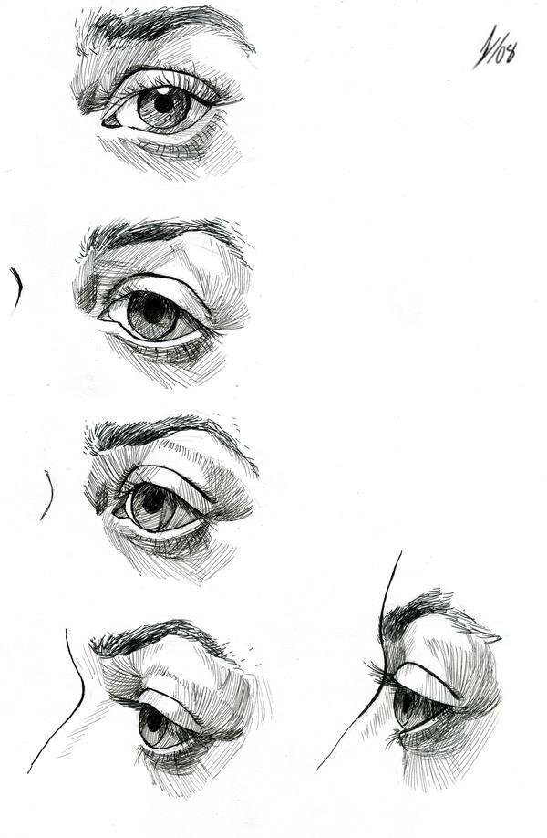 Eye Study by DarkKenjie