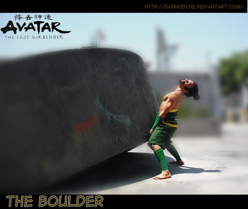 The Boulder Cosplay by DarkKenjie