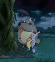 Totoro: 'and help them grow' by DarkKenjie