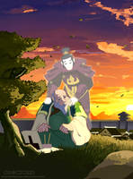 Iroh, In Honor of Mako by DarkKenjie