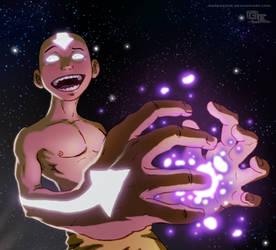 Aang - Cosmic Energy Tickles by DarkKenjie