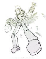 FLCL - Lord Canti     Sketch by DarkKenjie