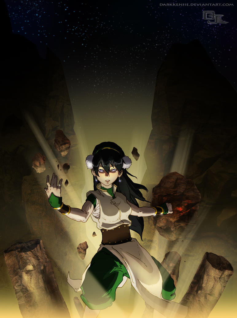 Edna (Zesteria) vs Toph (Avatar)  