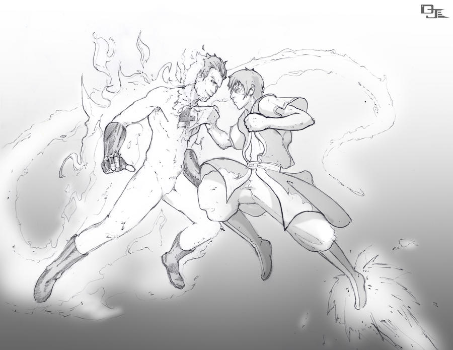 Zuko Vs Johnny Storm By DarkKenjie On DeviantArt