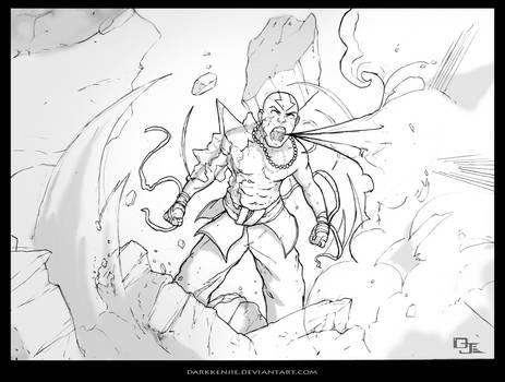 Avatar Aang sketch