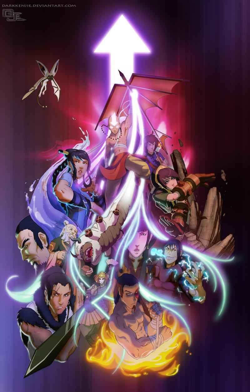 Avatar Season 4 poster by DarkKenjie
