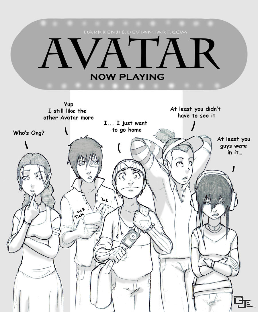 Avatar Sequel: Avatar Saw Avatar .2 By DarkKenjie On DeviantArt