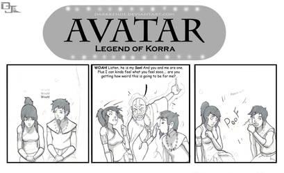 Avatar: Korra and Tenzin? by DarkKenjie