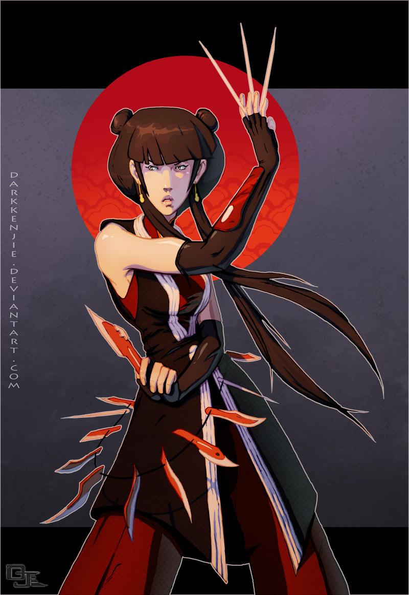 Mai -she still gots it- by DarkKenjie