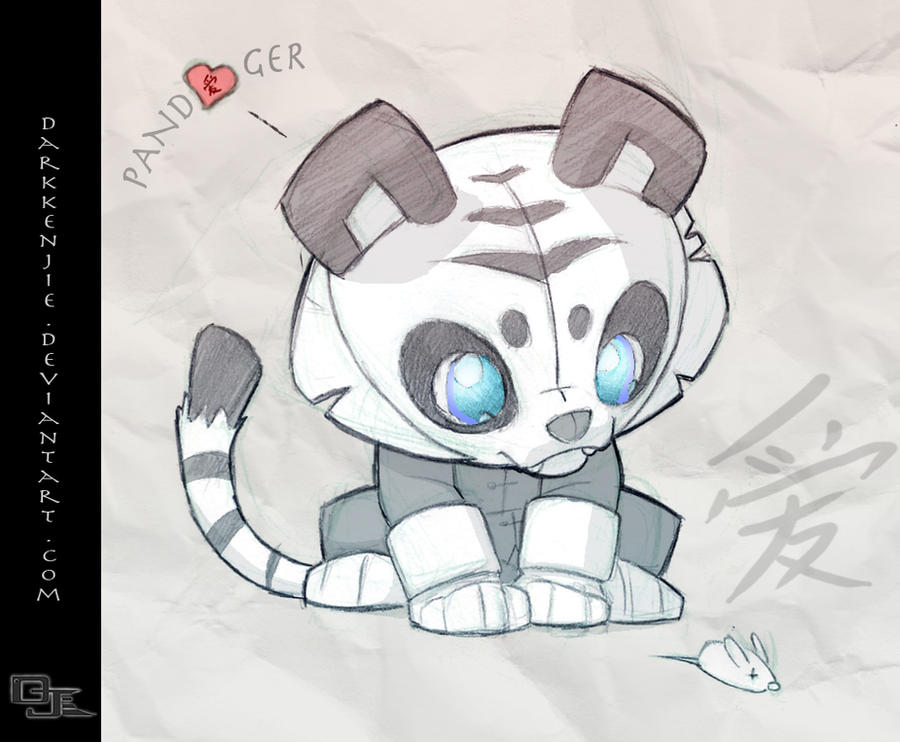 Pandaiger by DarkKenjie