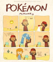 Pokemon Awkward... by DjWelch
