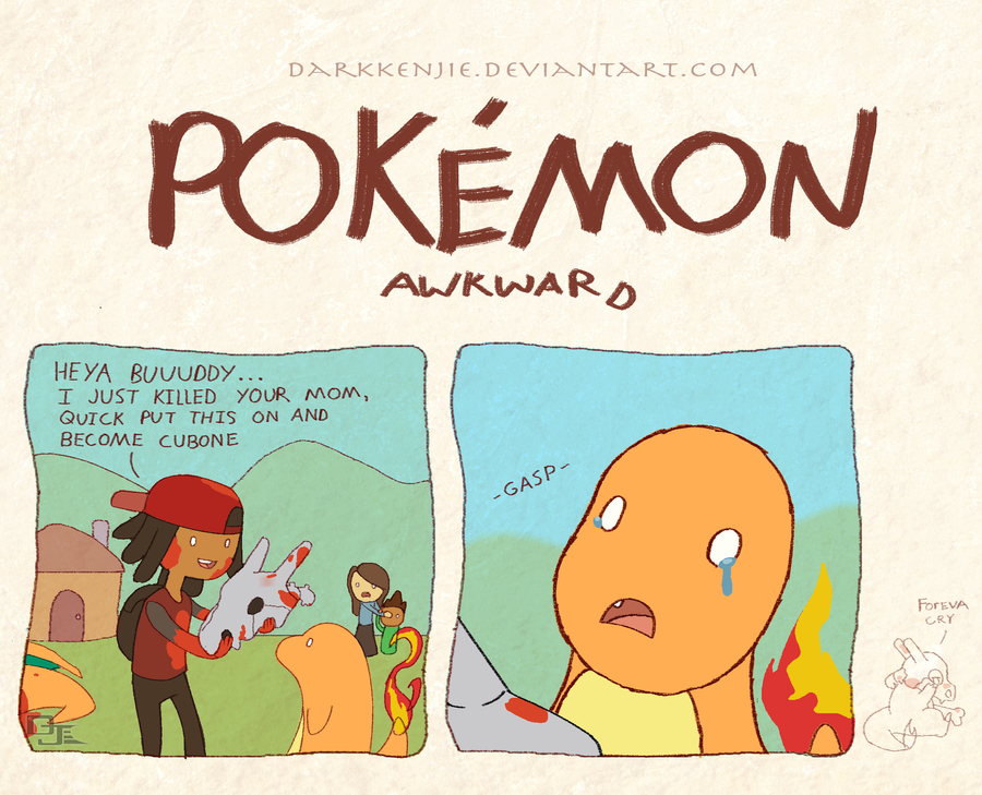 Pokemon awkward charbone by darkkenjie on deviantart