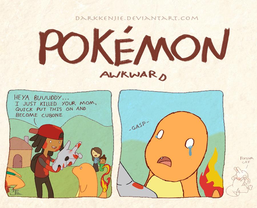 Pokemon awkward charbone by darkkenjie on deviantart