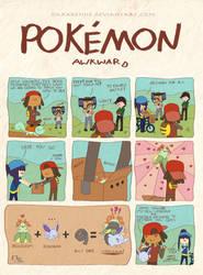 Pokemon Awkward: Ducked Together