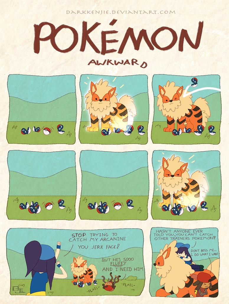 Pokemon Awkward: Want and Needs by DarkKenjie