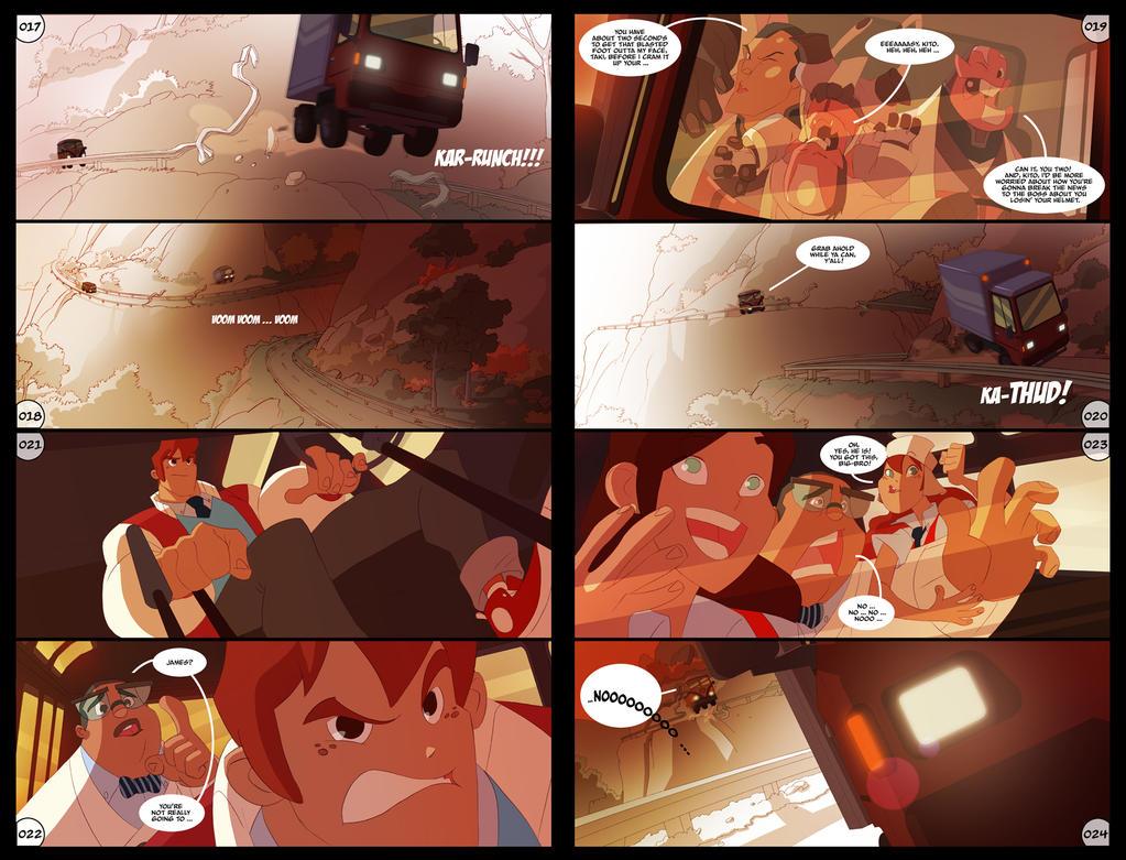 Gumshoes Comic Sneak Peak by DarkKenjie
