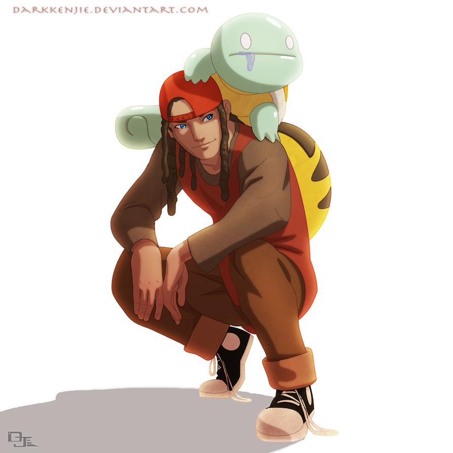 Pokemon Awkward: AJ and Derple by DarkKenjie