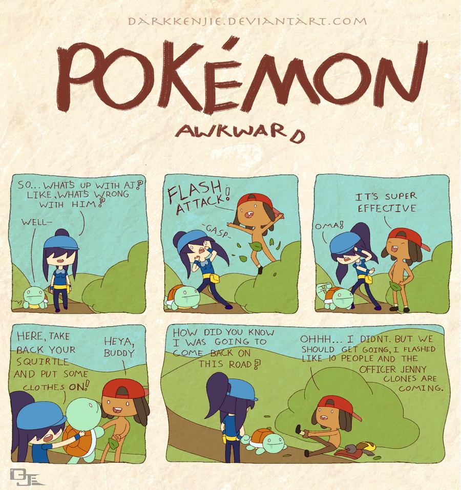 Pokemon Awkward: Flash Back by DarkKenjie