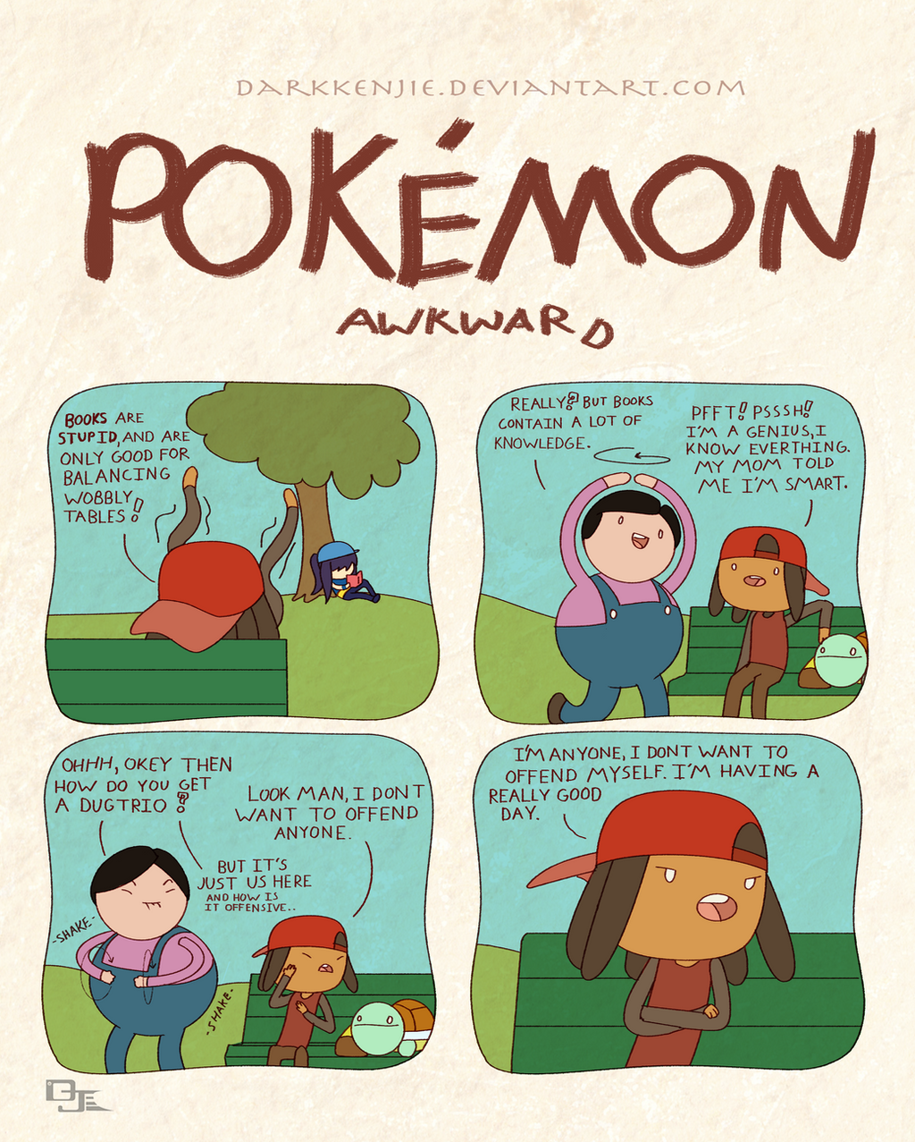 Pokemon Awkward: Dance Off by DarkKenjie