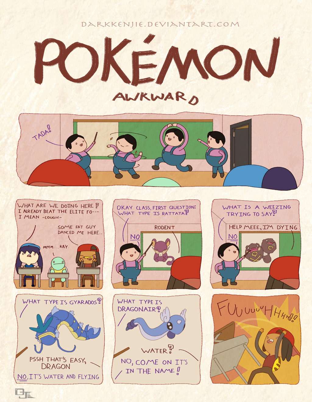 Pokemon Awkward: Flipping Finals by DarkKenjie