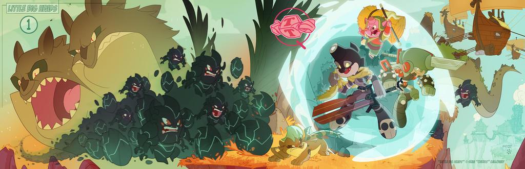 LittleBigHeads Kickstarter promo finished! by DarkKenjie